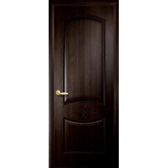 Двери межкомнатные Новый Стиль ИНТЕРА Донна с гравировкой 2000х34 мм Венге