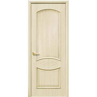 Двери межкомнатные Новый Стиль ИНТЕРА Донна с гравировкой 2000х34 мм Ясень