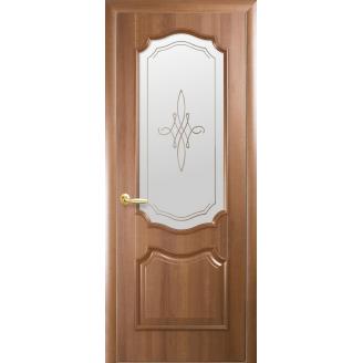 Двери межкомнатные Новый Стиль ИНТЕРА Рока Р1 2000х34 мм Золотая ольха