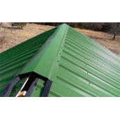 Влаштування даху з профнастилу