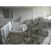 Демонтаж бетонных перегородок
