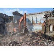 Демонтаж готового дома