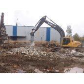 Демонтаж фундаменту будівлі