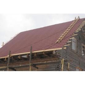 Влаштування даху з металочерепиці