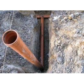 Укладання каналізаційних труб