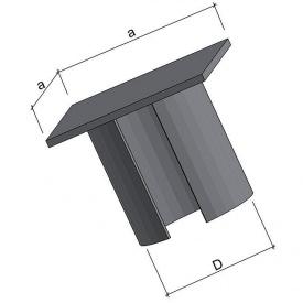 Оголовок плоский ОГ89 150х150 мм