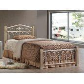 Кровать Domini Design Миранда 960x2150x900 мм крем