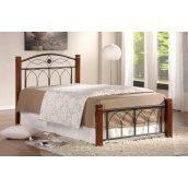 Кровать Domini Design Миранда 960x2150x900 мм каштан