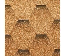 Битумная черепица RoofShield Премиум Стандарт 5 песочная