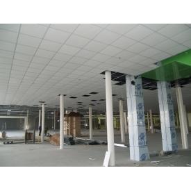 Монтаж подвесного потолка Armstrong с материалами