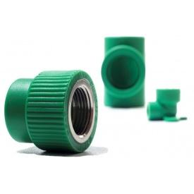 """Муфта полипропиленовая с внутренней резьбой PipeLife PP-R 1/2"""" 20 мм"""