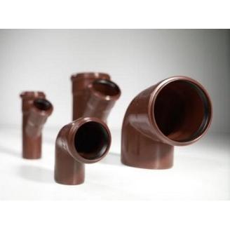 Колено 45˚ канализационной трубы PipeLife MASTER-3 50 мм