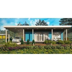 Будівництво будинків за каркасною технологією Prefab
