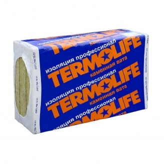 Минеральная вата Termolife Фасад 115 кг/м3 100х600х1000 мм