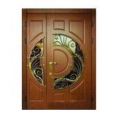 Дверь входная Броневик Премиум 218 Vinorit 1200x2050 мм RAL 8017