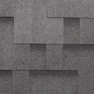 Битумная черепица RoofShield Премиум Модерн 28 бархатно-черный