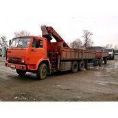 Оренда крана-маніпулятора КАМАЗ 53215 10 т