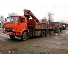 Аренда крана-манипулятора КАМАЗ 53215 10 т
