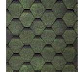 Битумная черепица TILERCAT Прима 1000*317 мм зеленая
