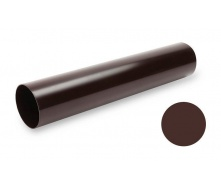 Водосточная труба Galeco PVC SP080 80х4000 мм шоколадно-коричневый