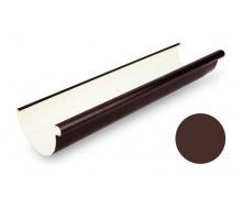 Желоб водосточный Galeco PVC 110/80 107х4000 мм шоколадно-коричневый