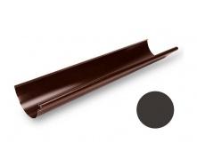 Желоб водосточный Galeco STAL 135 132х3000 мм темно-коричневый