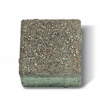 Плитка тротуарная Авеню Декор Камень Винтаж 150х150х60 мм серый