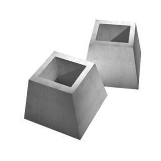 Стакан бетонного забора ЖБИ Ковальская ФЗП-1 400х700х1200 мм