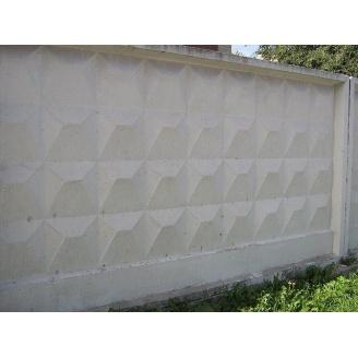 Плита бетонного забора ЖБИ Ковальская П6В 2500х3980 мм
