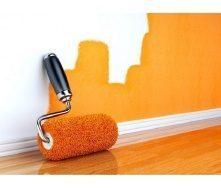 Окрашивание стен масляной краской