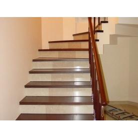 Декорування сходів з використанням оздоблювальних матеріалів
