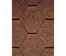 Битумная черепица RoofShield Классик Стандарт 4 коричневый
