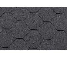 Битумная черепица RoofShield Классик Стандарт 15 графитно-черный