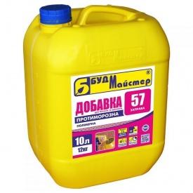Добавка к бетонам и растворам полимерная морозостойкая БудМайстер ЗАПРАВА-57 10 л