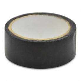 Изолента черная ПВХ 19 мм 20 м