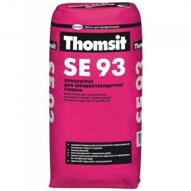 Концентрат для изготовления быстротвердеющих стяжек полов Thomsit SE 93 25 кг