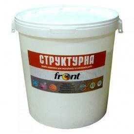 Краска водоэмульсионная структурная Фронт 40 кг
