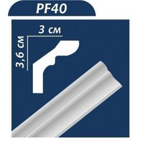 Плинтус потолочный Premium Decor PF40 2,00 м 36x30