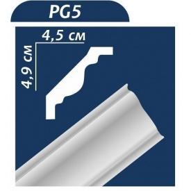 Плинтус потолочный Premium Decor PG5 2,00 м 50x45
