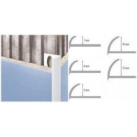 Профиль наружный для плитки 8 мм белый