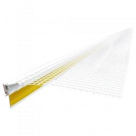 Профиль оконный примыкающий ПВХ с сеткой 2,60 м