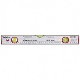 Уровень алюминиевый Access 3 глазка 40 см