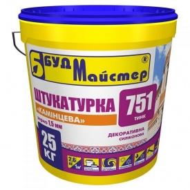 Штукатурка декоративная силиконовая камешковая 1,5 мм БудМайстер ТИНК-751 25 кг