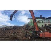 Демонтаж жилого дома
