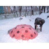 Формирование свежевыпавшего снега