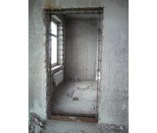 Демонтаж дверного проема в бетонной стене от 4 до 7 см
