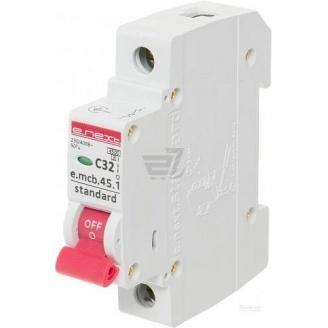 Автоматический выключатель модульный E-next e-mcb 45-1 Standart 32 А