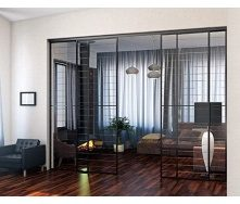 Изготовление стеклянных перегородок для квартир и домов под заказ