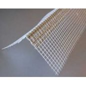 Уголок пластиковый перфорированный для защиты наружных углов