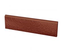 Цоколь клинкерный структурный PARADYZ NATURAL ROSA 30х8,1 см
